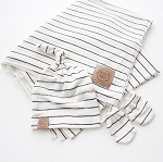 Striped Take Me Home Swaddle Set