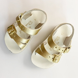 Salt Water Sandals Sea Wees - Gold