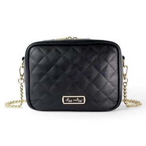 Crossbody Diaper Bag - Black