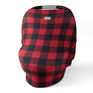 Mom Boss Multi Use Cover - Buffalo Plaid