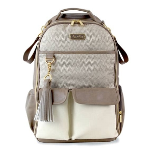 Boss Diaper Bag Backpack - Vanilla Latte