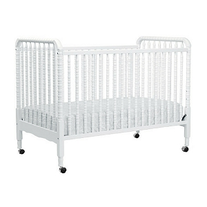Jenny Lind 3 in 1 Convertible Crib - White