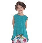 Persnickety Juliet Top - Turquoise