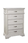 Stella Baby Kerrigan 5 Drawer Chest - Rustic White