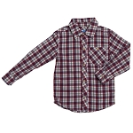 Kapital K Plaid Button Down Shirt