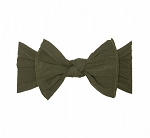 Bow Knot Headband - Army Green