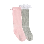 Robeez Lacy Lucy Boot Socks , 2-pack
