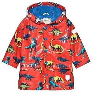 Hatley Painted Dinos Color Changing Baby Raincoat