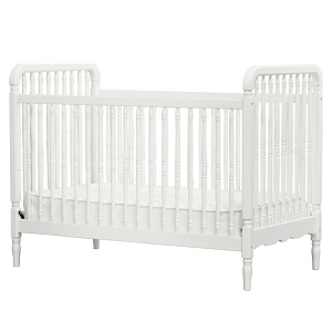 MDB Liberty 3-in-1 Convertible Crib - White