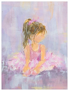 Little Dancer 1 Canvas Art