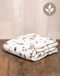 Little Unicorn Organic Cotton Quilt - Forest Friends
