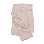 Luxe Bamboo Muslin Swaddle - Pink Mudcloth