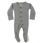Organic Thermal Long Sleeve Overall - Grey