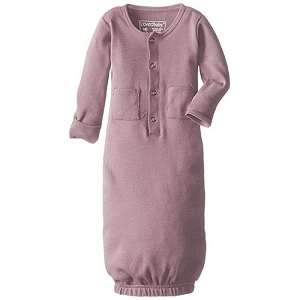 Organic Gown - Mauve