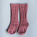 Knee High Socks - Mauve