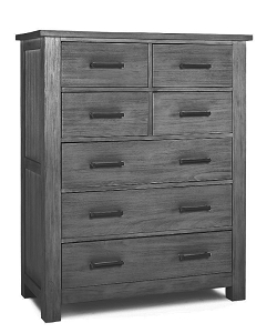 Dolce Baby Lucca 7 Drawer Chest - Weathered Grey