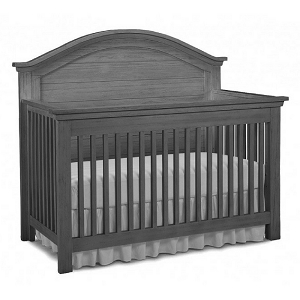 Dolce Baby Lucca Full Panel Crib - Weathered Grey