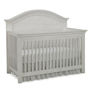 Dolce Baby Lucca Full Panel Crib - Sea Shell