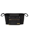 Grab and Go Luxe Stroller Organizer - Black