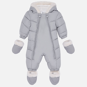 Mayoral Snowsuit - Grey