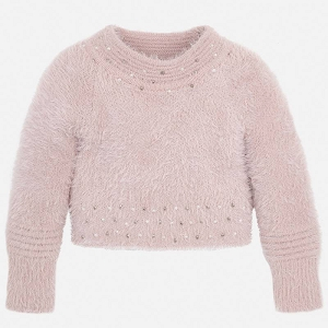 Mayoral Girls Sweater - Blush