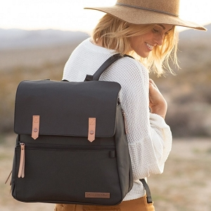 Meta Backpack - Black Matte Canvas