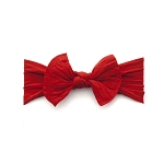 Bow Knot Headband - Cherry Red