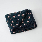 Little Unicorn Muslin Quilt - Midnight Rose