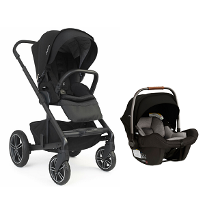 Nuna Mixx2 and Pipa Lite Bundle - Caviar