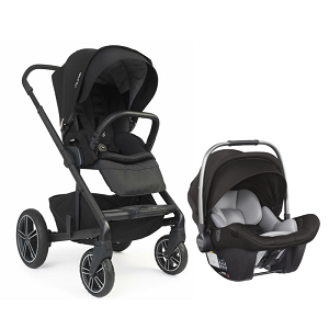 Nuna Mixx2 and Pipa Lite LX Bundle - Caviar