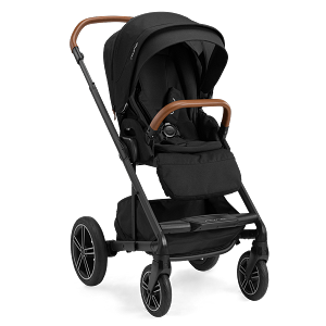 Nuna Mixx NEXT Stroller w Magnetic Buckle & Ring Adapter - Caviar (NEW!)