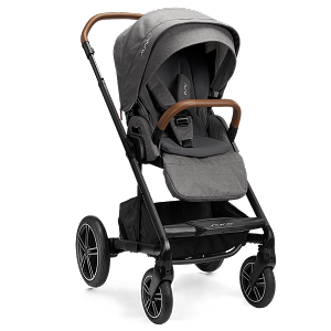 Nuna Mixx NEXT Stroller w Magnetic Buckle & Ring Adapter - Granite (NEW!)