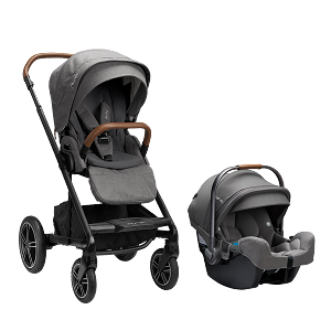 Nuna Mixx NEXT w Magnetic Buckle & Pipa RX - Granite (NEW!)