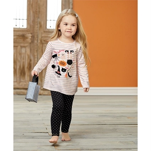 Mud Pie Halloween Tunic & Legging Set