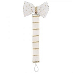 Mud Pie Pacy Clip - Gold Dot Bow