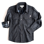 Appaman Blue Mason Shirt