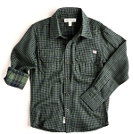 Appaman Green Gingham Mason Shirt