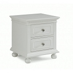 Dolce Babi Naples Nightstand - Snow White