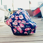 Covered Goods Multi-Use Cover - Navy Floral