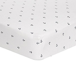Liz and Roo Mini Anchors Crib Sheet