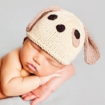 Huggalugs Newborn Puppy Hat