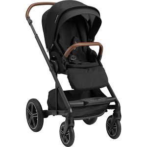 Nuna Mixx NEXT Stroller w/ Ring Adapter - Caviar (NEW!)