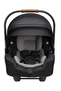Nuna Pipa RX Infant Car Seat + RELX Base - Caviar