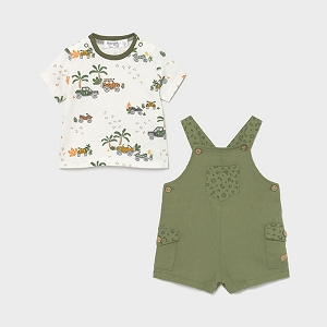 Mayoral Safari Overall Set