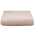 Liz and Roo Crib Sheet - Petal Pink Linen