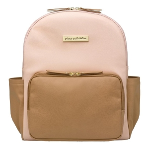 Petunia Pickle Bottom District Backpack Blush/Camel