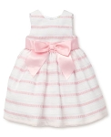 Little Me Pink Stripe Dress Set