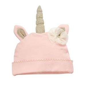 Mud Pie Unicorn Cap - Pink