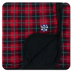 Kickee Pants Stroller Blanket - Plaid