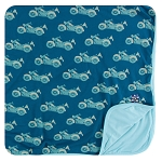 Kickee Pants Toddler Blanket - Heritage Motorcycle